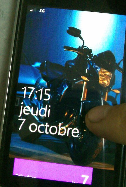 Lockscreen Windows Phone 7